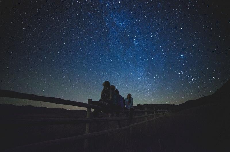 ver las estrellas tenerife zona sur paisaje luna venus marte saturno
